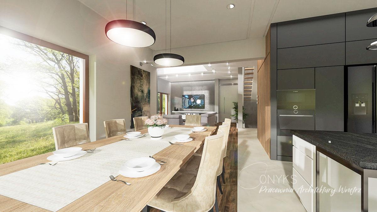 projekt domu w Rembertowie_pracownia architektury wnetrz Onyks (2)