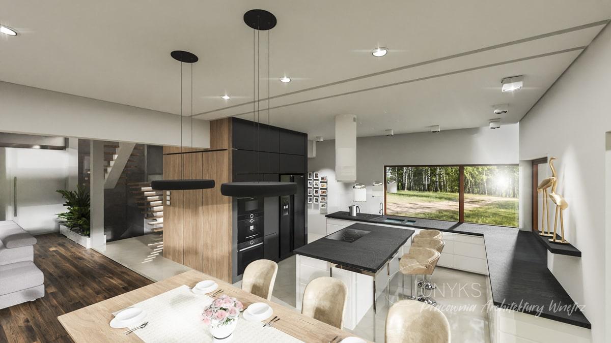 projekt domu w Rembertowie_pracownia architektury wnetrz Onyks (5)
