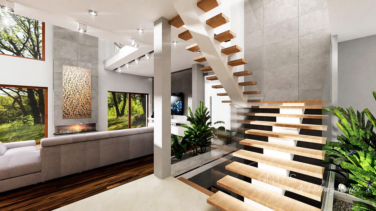 projekt domu w Rembertowie_pracownia architektury wnetrz Onyks (9)