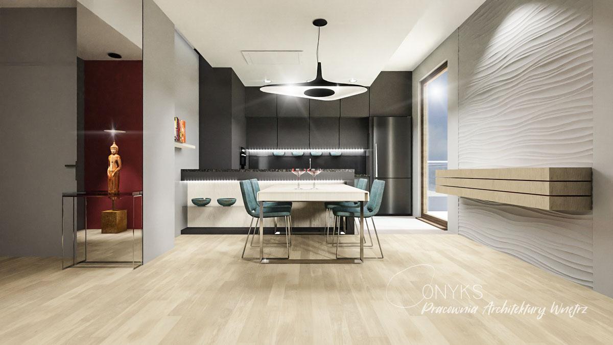projekt wnetrza apartamentu na Bielanach_paracownia wnetrz Onyks (4)
