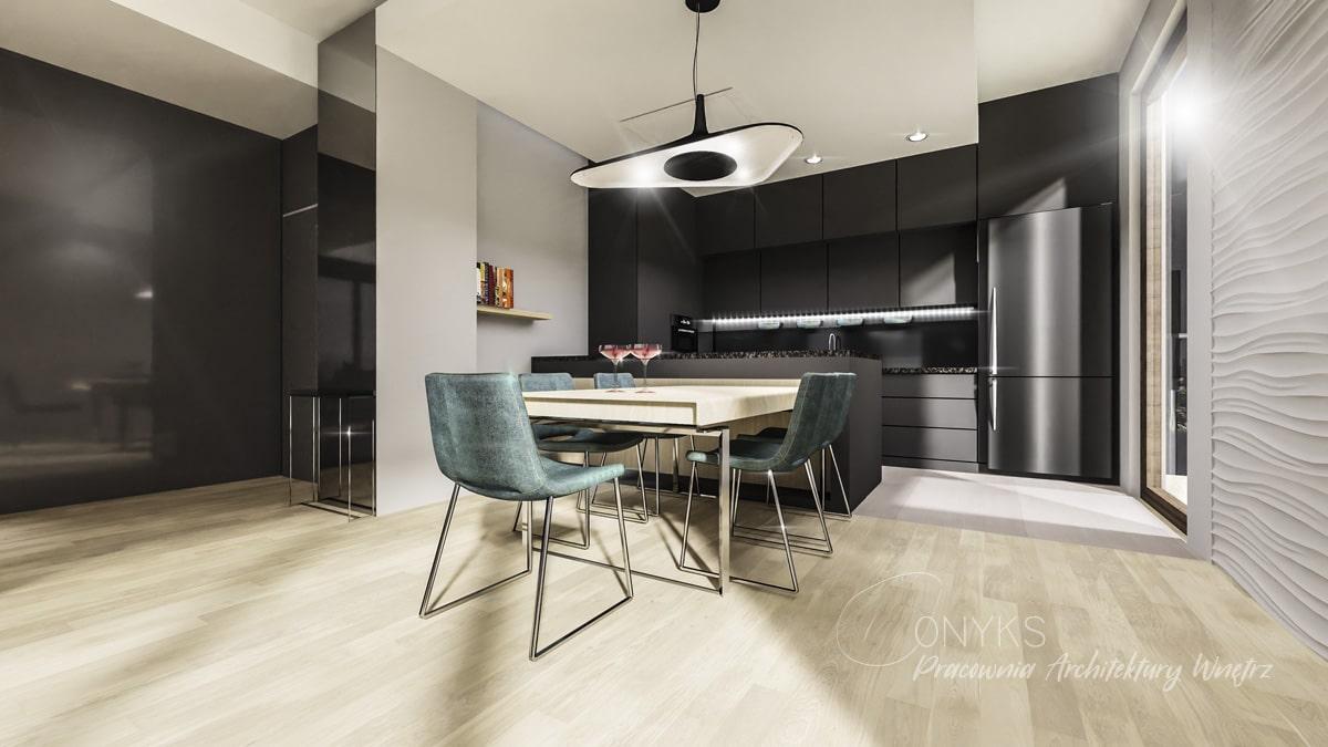 projekt wnetrza apartamentu na Bielanach_paracownia wnetrz Onyks (5)