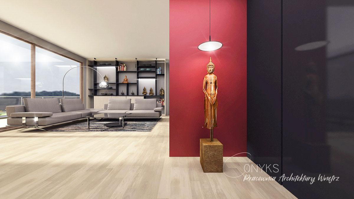 projekt wnetrza apartamentu na Bielanach_paracownia wnetrz Onyks (6)