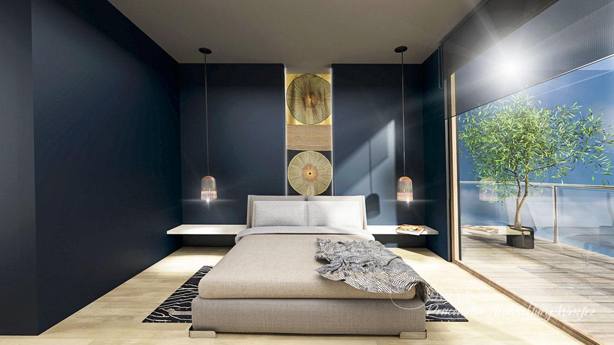 projekt wnetrza apartamentu na Bielanach_paracownia wnetrz Onyks (7)