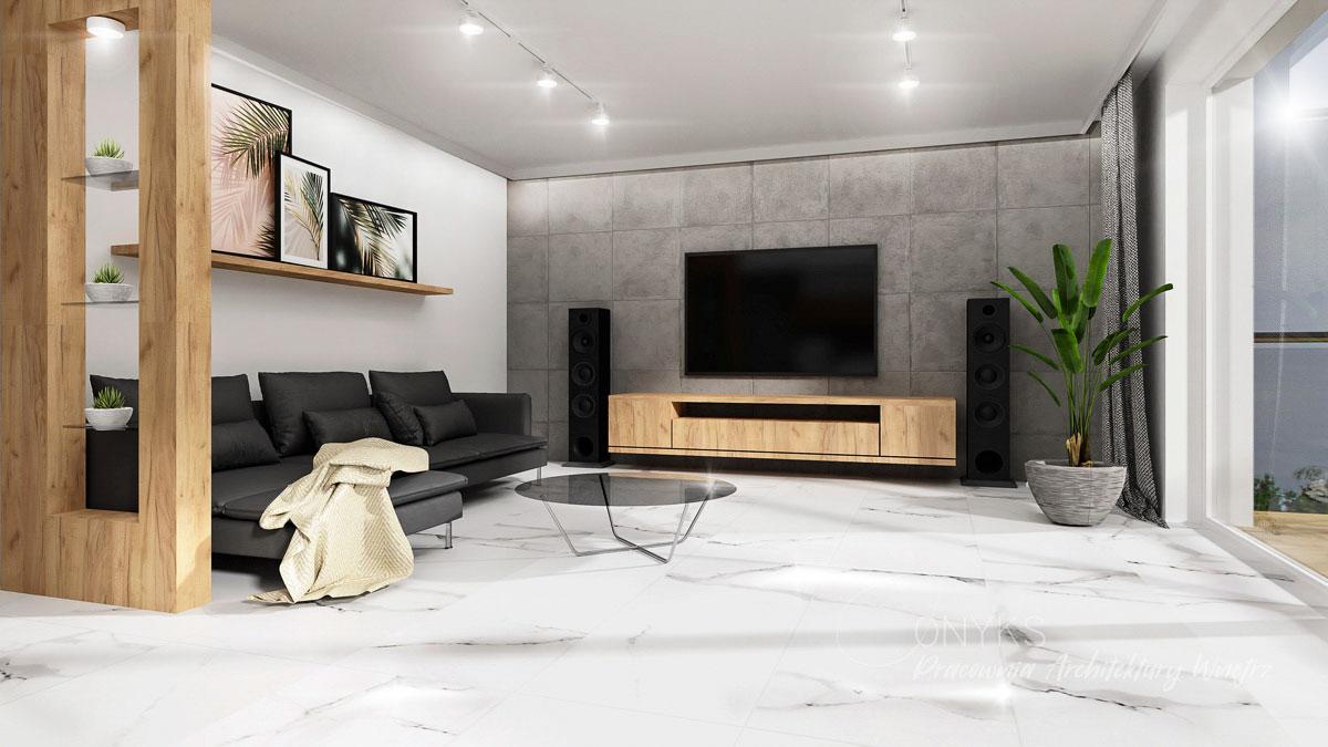 projekt wnetrza domu w Legionowie_pracownia architektury wnetrz Onyks (6)