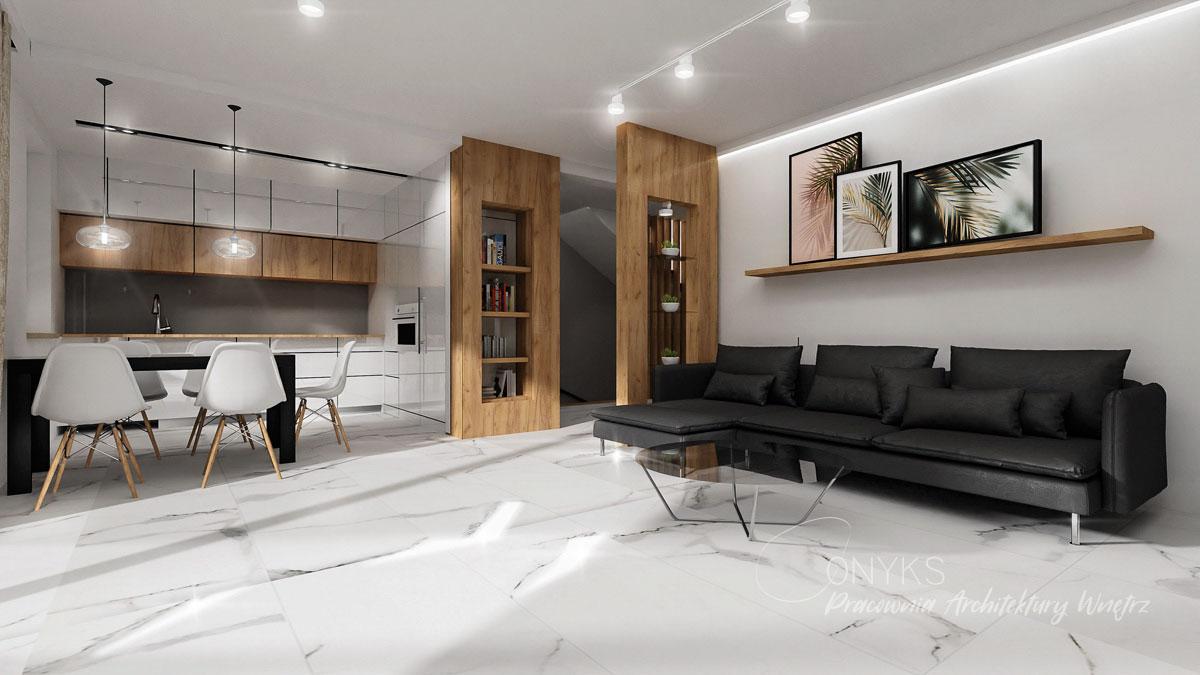 projekt wnetrza domu w Legionowie_pracownia architektury wnetrz Onyks (7)